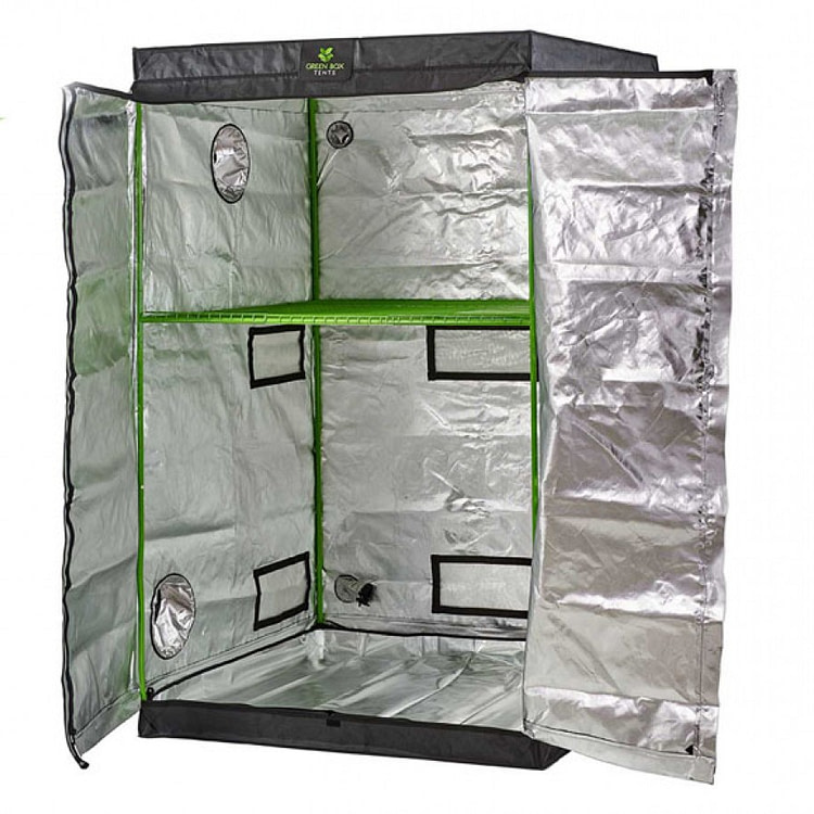 Green Box Tent 120x120x200 With Shelves